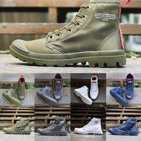 женская обувь оптовых-Милявская Boots Brown кроссовки 2019 сапоги плоские лодыжки женщина Army Green Военный шифера Черный Белый Темно-синий Дизайнер Sneaker спортивной обуви
