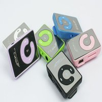 Wholesale USB Mini Digital Mp3 Music Player Sport MP3 With Micro SD TF Card Slot MP3 Player Retail box Cables Players