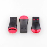флэш-карта usb 32gb оптовых-Свисток USB 2.0 T-flash Устройство чтения карт памяти TF карта Micro SD Card Reader Адаптер Бесплатная доставка 8 ГБ 16 ГБ 32 ГБ 64 ГБ 500 Шт.