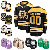 bruins winter jersey großhandel-Männer Kinder Frauen Danton Heinen Trikot Boston Bruins Eishockey Sean Kuraly Chris Wagner Matt Grzelcyk Joakim Nordstrom Winter Classic Schwarz Weiß