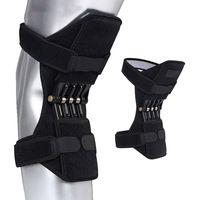 knie-stützpaar großhandel-1 Paar Gelenkstütze Knieschützer Atmungsaktives Kletterpad Knieschützer Leistungsstarker Rebound-Stabilisator für den Außenbereich