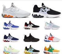 Wholesale panda table light for sale - Group buy 2020 BEAMS x React Presto DHARMA Running Shoe for men Witness Protection Barely Volt Rabid Panda Triple Black Designer Trainers Sneakers