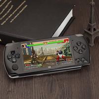 игровой плеер mp4 оптовых-игровая приставка 4,3-дюймовый экран MP4-плеер MP5-плеер реальная поддержка 8 ГБ для PSP игры, камеры, видео, электронных книг