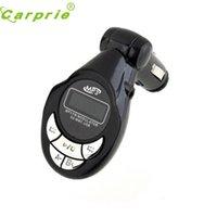 araba mp3 usb sd mmc toptan satış-Araç-stil NR4 Araç MP3 Çalar Kablosuz FM Verici Modülatör USB, SD CD MMC Uzaktan XRC
