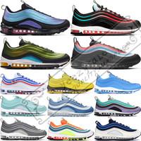 Großhandel Nike Air Max 270 TN PLUS Mens Damen Laufschuhe BE TRUE Gelb Dreifach Schwarz Weiß Hyper Blue Volt Herren Designer Trainer Sport Sneaker