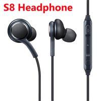 Wholesale earphone galaxy white online – S8 Earphone Headset Mic For Samsung Galaxy S8 S9 S10 Note mm headphone Genuine Black Headphones EO IG955BSEGWW Handsfree Earbuds Phone