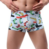 Wholesale cute cartoon underwear for sale - Group buy underwear Men boxer Men Flat Pant Trousers Cute Cartoon boxer Knickers Lace Underwear Underpants ropa interior hombre