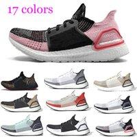 atletik ayakkabı tasarımcıları toptan satış-2019 Ultra boost 19 Erkek Bayan Koşu Ayakkabısı Ultraboost 5.0 Açık Kahverengi Açık Kahverengi Koyu Piksel REFRACT Designer Athletic Ayakkabı
