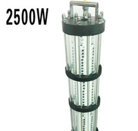 Wholesale underwater lights for boats for sale - Group buy 2500W Green Underwater LED Fishing Lights Fish Luring Lamp LED Lighting For Boat Marine Night Fishing Lights AC220V AC110V