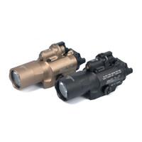ingrosso punti luce laser per pistole-Torcia tattica di alta qualità Trijicon SF X400 X400U luce con mirino laser rosso per pistola spedizione gratuita