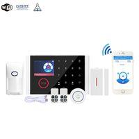 cámara de los sistemas de alarma antirrobo al por mayor-alarma alarma antirrobo casa inalámbrica GSM sistema de alarma antirrobo casa