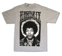 Wholesale red brown guitar for sale - Group buy JIMI HENDRIX quot PHOTO ON ASH GREY quot T SHIRT NEW OFFICIAL ADULT BAND MUSIC GUITAR Funny Unisex Casual gift