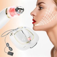 máquina del massager del lifting facial al por mayor-Estiramiento de la piel de la cara máquina de elevación de RF rejuvenecimiento arrugas eliminación piel del Massager del cuidado del instrumento Cuidado de los Ojos