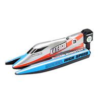 bateaux électriques pour les enfants achat en gros de-Vente en gros de bateau de course télécommande bateau électrique de course rapide haute vitesse bateaux jouets d'eau cadeau d'anniversaire pour enfants enfants