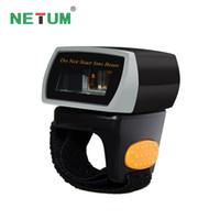 scanner de código de barras bluetooth portátil venda por atacado-NETUM NT-R2 Leitor Portátil Bluetooth Código 2D Barcode Scanner QR Code Leitor de Código de Barras