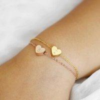 kız çocuklar altın takı toptan satış-Çiçek Kız Bilezik Çocuklar Bilezik İlk Kolye Bebek Kız Takı Çiçek Hediye Charm Dainty Altın Popüler Jewelr