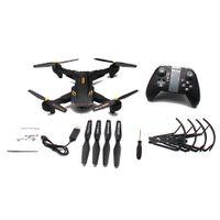 hubschrauber videokamera großhandel-Weitwinkelfernbedienung Kinder Drone Hubschrauber Spielzeug WIFI HD Kamera Video Faltbare RC Quadcopter