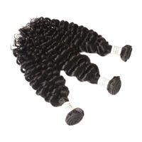 ingrosso capelli ricci di capelli vergini-Viya 8A cambogiana Virgin dei capelli francese Curl capelli non trattati umani possono essere permanentati e colorati 10-30 pollici colore nero naturale