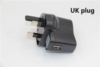 uk mp4 оптовых-ecigs новый EU plug США UK plug электронная сигарета Зарядное устройство переменного тока USB эго Зарядное устройство мобильный телефон MP3 MP4 телефон USB-вентилятор USB зарядное устройство USB адаптер
