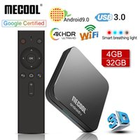Wholesale google amlogic android tv box resale online - MECOOL KM9 Pro Google Certified Androidtv Android TV Box GB GB Amlogic S905X2 ATV GB GB Dual Wifi Smart TV box
