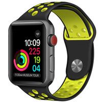 ingrosso dimensioni del pvc-Nuovo marchio Apple Watch Series 4 16 GB Caratteristiche Accelerometro Giroscopio resistente all'acqua Cinturino GPS Colore Nero Dimensioni cassa 44 mm Compatibile