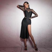 ingrosso stili di abito latino-vestiti sexy di ballo latino vestiti di stile latino vestiti da donna per la vendita salsa abiti da ballo americano