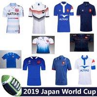 xxl 18 caliente al por mayor-Hot 2018 2019 2020 Francia Super Rugby Jerseys con chaqueta 18 19 20 Camisas Maillot de Foot Chaquetas de rugby BOLN francés talla S-3XL