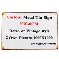 Signos De Boda Personalizado Art Deco-arte Placa de pared de metal-Oro Nombre Personalizado