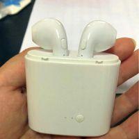 volume do fone de ouvido com zíper venda por atacado-i7 i7 tws headset bluetooth mini S fone de ouvido fone de ouvido sem fio para iphone XS XR XSMAX Android não Air Pods telefone