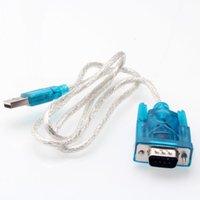usb seri dönüştürücüler toptan satış-USB RS232 Seri Port Adaptörü Switcher Dönüştürücü Dijital Kablo