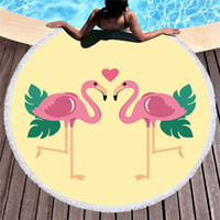 Wholesale soft products for sale - Group buy Seaside Beach Towel Soft Round Carpet Fashion Women Polyester Fiber Sofa Anti Fall More Color Portable New Products csC1