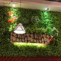 ingrosso erbe decorative-Le piante decorative dell'eucalyptus dell'erba artificiale diy fiorisce per il giardino dell'hotel domestico decorativo