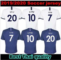 Wholesale free soccer uniforms for sale - Group buy 10 free DHL TOP Thailand KANE spurs soccer jersey LUCAS jerseys ERIKSEN DELE SON Football shirt kit Men uniforms maillot de