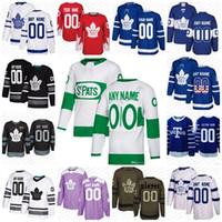 ingrosso case d'acero-Personalizzato Men Women Youth Toronto Maple leaf 2019 St. Pats All Stars 91 Tavares Morgan Rielly 34 Matthews Kasperi Kapan Home Away Hockey Jersey