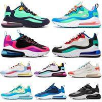 venta de zapatos tenis para mujer al por mayor-nike air max 270 react 2019 Designer React BAUHAUS Zapatillas de running para hombre mujer para hombre zapatillas zapatillas de deporte Zapatillas de correr