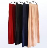 tutu sexy al por mayor-Elegante noche musulmana Tutu Faldas Kaftan marroquí 2019 Robe De Soiree Dubai 103 ~ 106 cm Faldas de fiesta para mujer