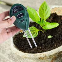 medidor de agua al por mayor-Medidor de humedad del suelo analógico para la planta de jardín Higrómetro de suelo Herramienta de prueba de agua sin retroiluminación Herramienta práctica exterior para exteriores FFA1993