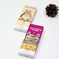 kırtasiye kağıdı tutacağı toptan satış-6 paket / grup Karikatür Totoro imi Anime kağıt sayfa tutucu Memo kart Kırtasiye ofis Okul malzemeleri separador de libros