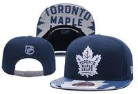 Wholesale sports toronto for sale - Group buy Good Sale Toronto Maple Leafs Baseball Snapbacks Baseball Embroidered Team logo Sport Hats Adjustable Cap