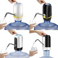 dispensador automático de botellas de agua al por mayor-Carga por USB Bebida Automática Automática Bomba de Agua Dispensador de Barril de Agua Botella de Agua Eléctrica Portátil Interruptor para Universal 5 Galones