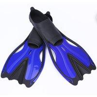 nadadores adultos venda por atacado-Aloma Natação Fins adultos snorkel pé Flippers Mergulho Fins Beginner Natação equipamento portátil Adulto Diving Flippers L