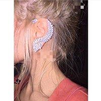 Wholesale charms prata resale online - Moda prata cor strass cristal longo borla brinco para as mulheres nupcial gota balançando brincos brincos jóias de casamento