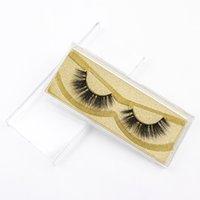 Wholesale good natural false eyelashes for sale - Group buy DHL False Eyelashes Good Quality Private Label d natural Mink Eyelashes