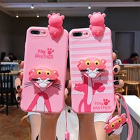 Wholesale iphone cute doll case for sale – best New Luxury Designer D Doll Matte Cute Cartoon Silicone soft case for iphone X XR XS PRO MAX S plus cover with lanyard coque fundas