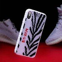 zapatos deportivos de silicona al por mayor-zapatos deportivos de lujo zapatillas de deporte para el iPhone 7 8 7plus 8plus 6 s más 11 Pro simulación X XS Max Xr caso paño 3D de silicona CAPA