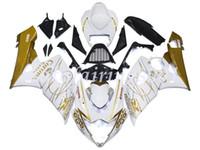 motosiklet korona kiti toptan satış-Yüksek kalite yeni ABS motosiklet kaporta kiti Suzuki gsxr100010001000k5 2005-2006 vücut kiti için özel ücretsiz renk Altın Parlak Corona Özel