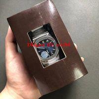 reloj de pulsera para hombre suizo al por mayor-Reloj de calidad superior de lujo PF Factory Nautilus 5711 / 1A-011 010 Cal.324 SC Fecha SWISS Eta 5711G Relojes automáticos para hombre Relojes de pulsera