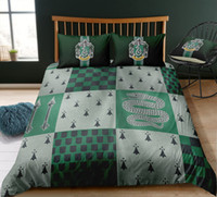 Wholesale green twin bedding sets for sale - Group buy Thumbedding Harry Potter Bedding Sets King Size Grid Duvet Cover Set Queen Twin Full Single Double Animal Bed Set With Pillowcases