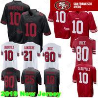 Wholesale richard sherman jersey online - San Francisco Jimmy Garoppolo ers  Jersey Jerry Rice Richard Sherman 122e95f34