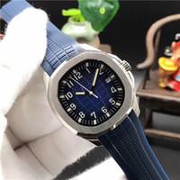markalı saatler çin toptan satış-Lüks erkek saatler Otomatik mekanik 5167 5168 5167A 5168G 40 MM Bule dial Üst Kauçuk kayış Çin markalar Erkekler spor İzle 10 renk
